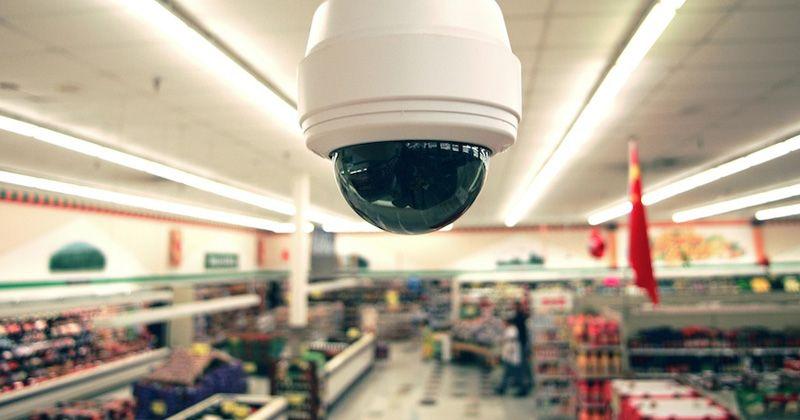 Cámara de seguridad para la videovigilancia